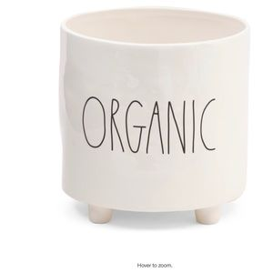 """Rae Dunn """"ORGANIC"""" Large Footed Planter"""